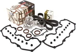 Evergreen TBK104VC Fits 84-93 Infiniti Nissan 200SX 300ZX D21 RWD VG30E Timing Belt Kit w/Water Pump Valve Cover Gasket