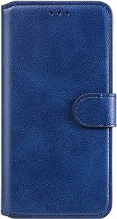 EYYY011335 Bleu Coque pour Oppo A53//A32 2020 Coque,Housse en Cuir Flip Case Portefeuille Etui avec Stand Support et Carte Slot pour Oppo A53//A32 2020