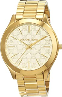 Michael Kors Women's Quartz Watch Mk3335 With Metal Strap, Analog Display