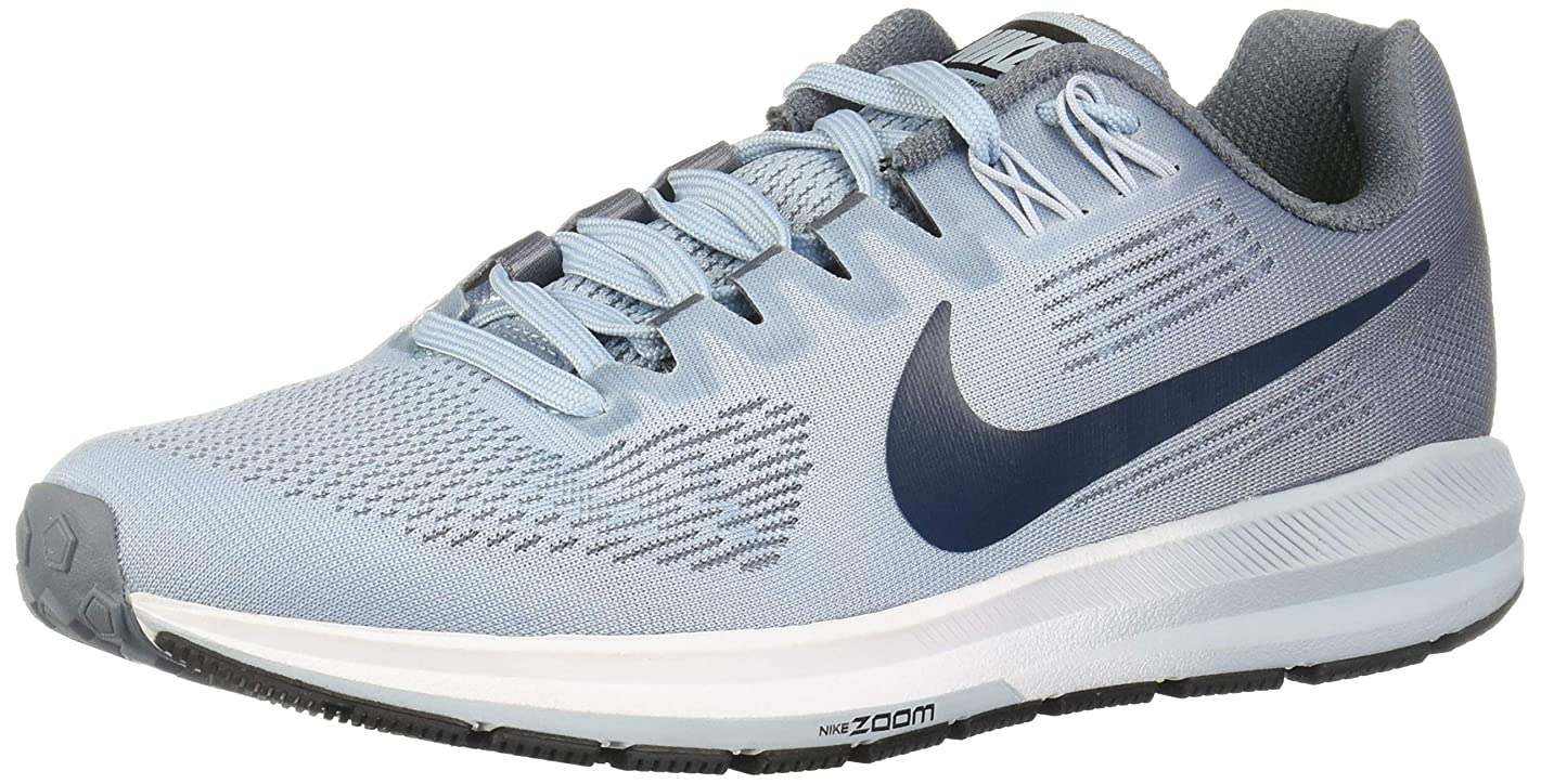 Nike Women's Air Zoom Structure 21 Ankle-High Mesh Running Shoe
