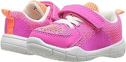 Pink Knitted/Nubuck PU