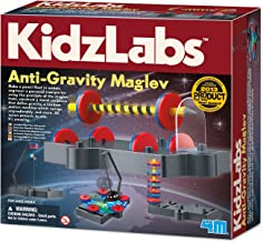 4M KidzLabs Anti Gravity Magnetic Levitation Science Kit - MagLev Physics STEM Toys Educational Gift for Kids & Teens, Girls & Boys