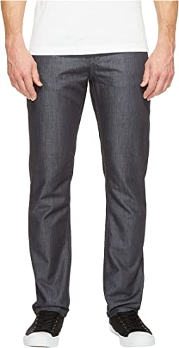 Slim Lightweight Denim Pants in Dark Grey