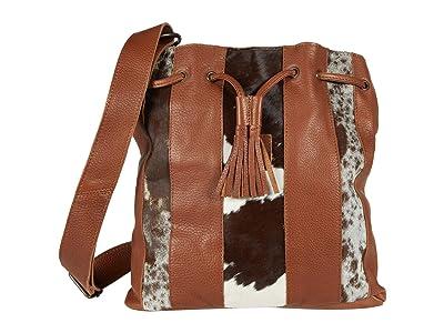 STS Ranchwear Cowhide Bucket Bag