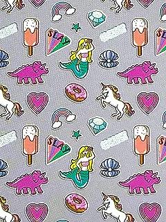 Warm & Snuggly Unicorn Mermaid Dinosaur Emoji Icons Super Soft Throw Blanket 50x60