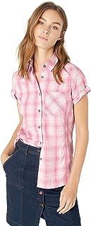Solstice Apparel Women's Short Sleeve Plaid Shirt