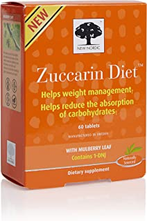 New Nordic Mulberry Zuccarin, 60 Tablets (Pack of 6)
