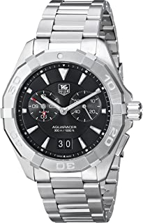 TAG Heuer Men's WAY111Z.BA0910 300 Aquaracer Silver-Tone Stainless Steel Watch