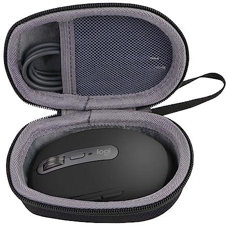 ロジクール (Logicool ) MX ANYWHERE 3/2 ワイヤレスマウス MX1700GR 専用保護収納ケース-Aenllosi (ブラック)