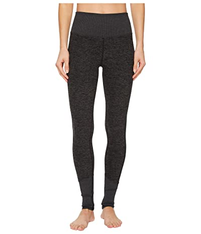 ALO High Waist Lounge Leggings (Dark Heather Grey) Women