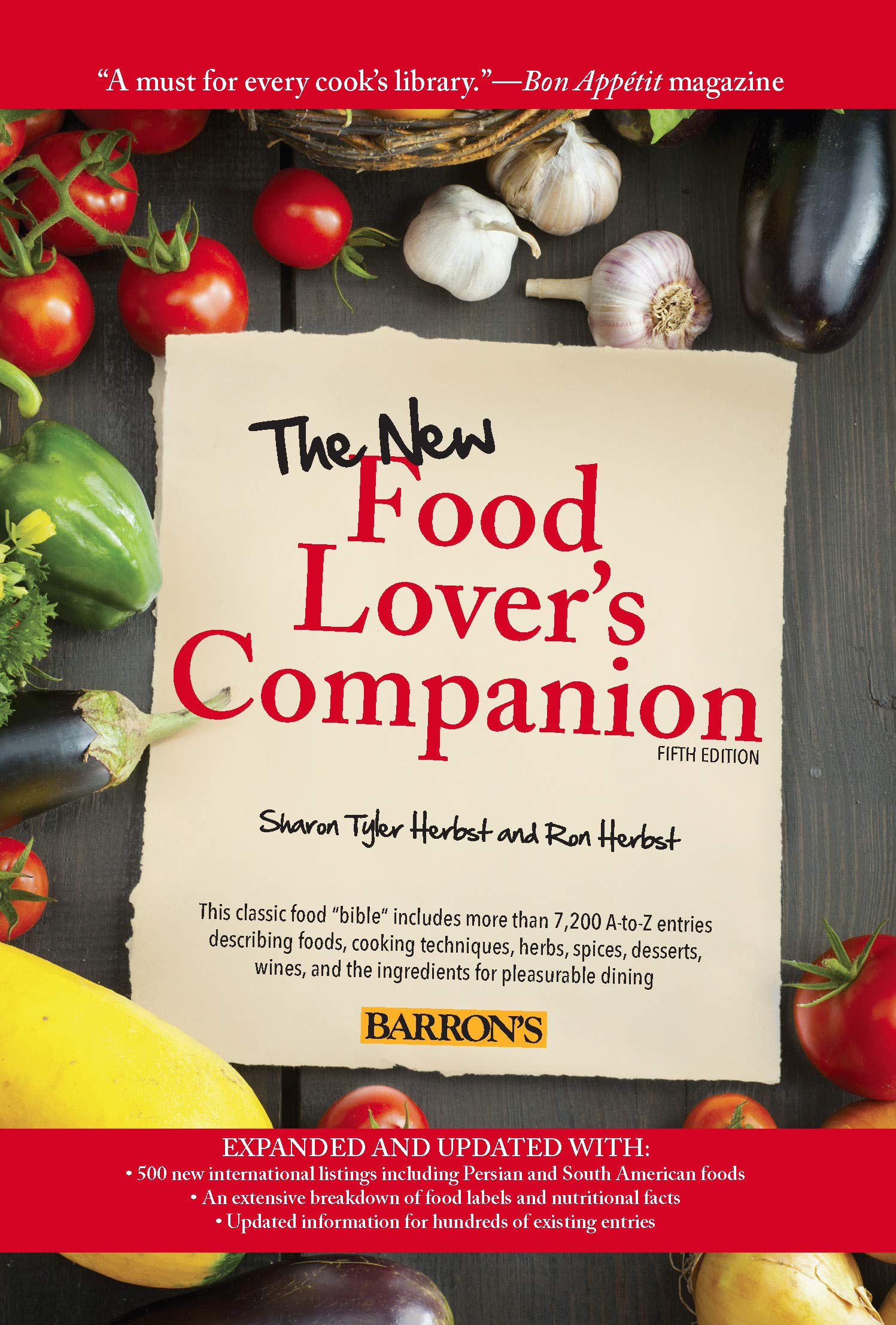 Image OfThe New Food Lover's Companion (English Edition)