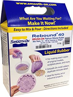 Smooth-On REBOUND 40 Self Thickening Brush-On Silicone 2 pint kit