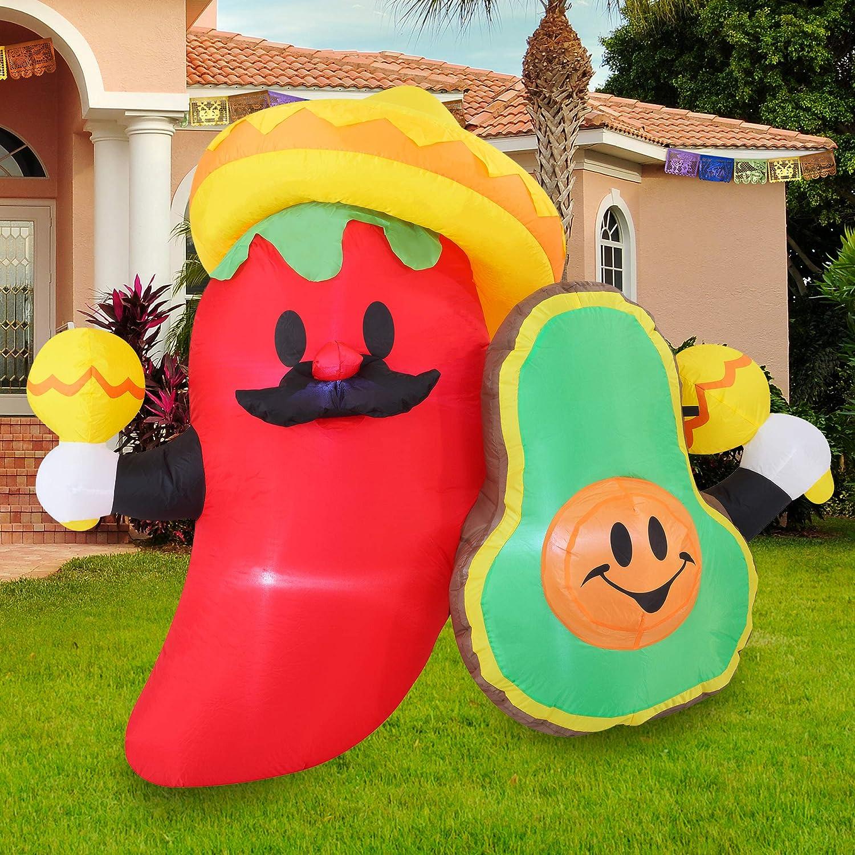 Joiedomi Cinco de Mayo Inflatable Decoration Spasm price Av FT Long Fiesta shopping 6