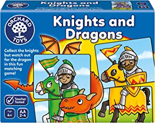 Orchard Toys Knights and Dragons Board Game