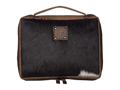 STS Ranchwear Cowhide Tablet/Book Cover (Cowhide/Tornado Brown) Bags