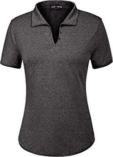 women's collared polo shirts