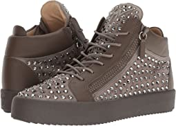 May London Mid Top Studded Sneaker
