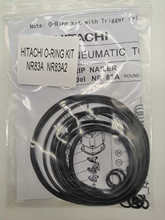 NR83A NR83A2 O-RING Kit For Hitachi Full Round Head Framing Nailer With Trigger O-Ring