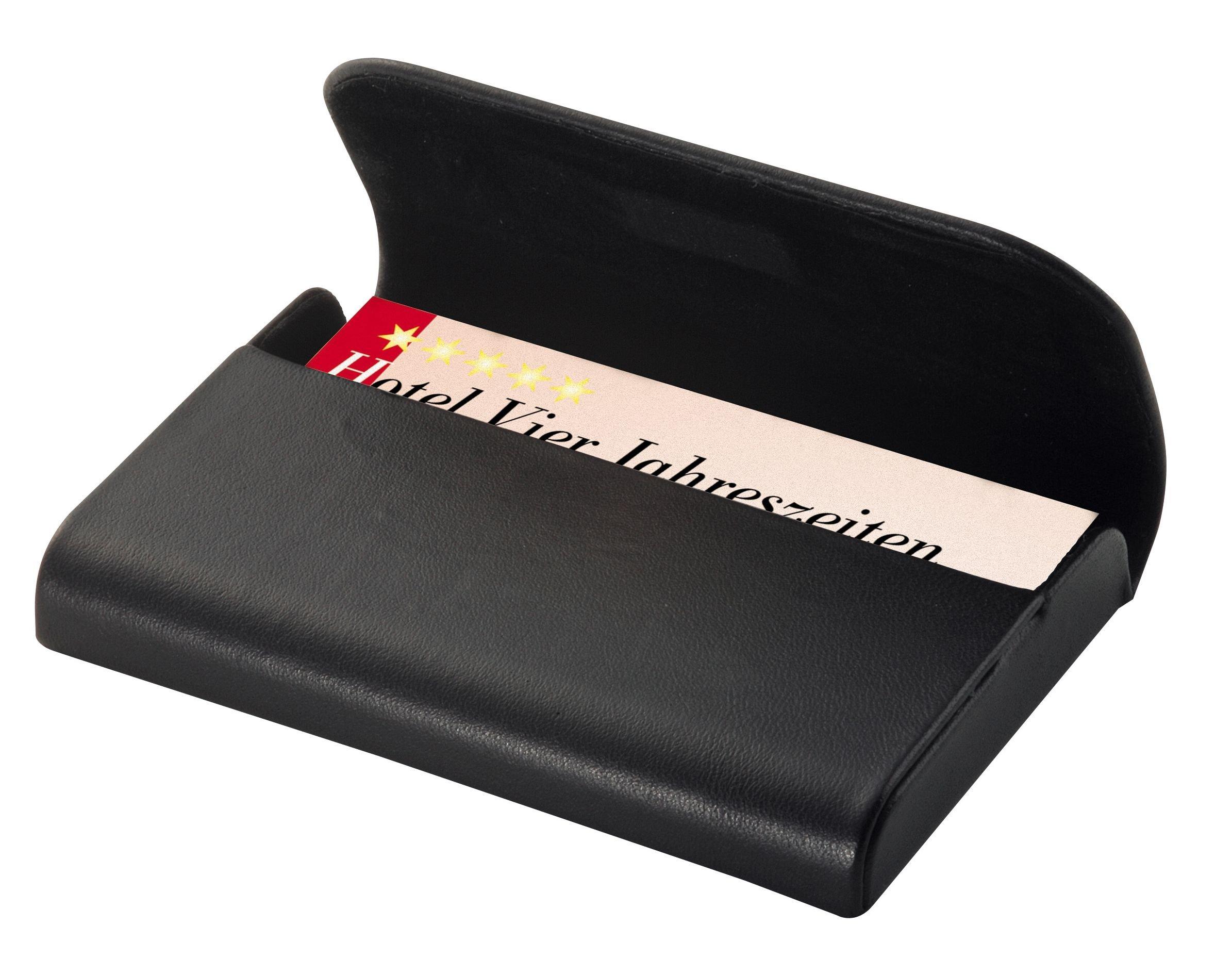 Sigel- Torino Estuche para tarjetas de visita, Color negro (VZ270): Amazon.es: Juguetes y juegos
