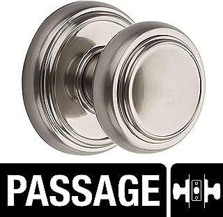 Baldwin Prestige Alcott Hall/Closet Knob in Satin Nickel