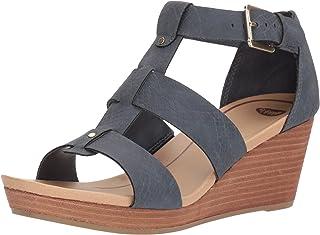 صندل Dr. Scholl's Shoes نسائي بكعب عريض