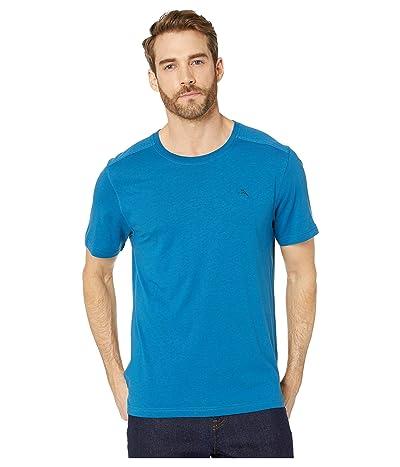 Tommy Bahama Cotton Modal Knit Jersey T-Shirt (Blue/Allure) Men