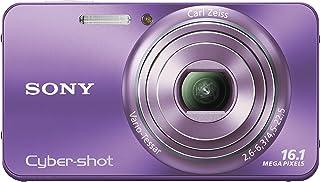 Sony DSC-W570B digitale camera (16 megapixels, 5-voudig opt, zoom, 6,9 cm (2,7 inch) display, beeldstabilisatie) zwart, paars