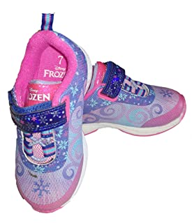 Frozen Sneakers Shoes Elsa and Sister (7) Purple