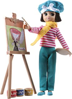 Lottie Always Artsy Doll | Artist Doll With Short Hair and Brown Eyes | Wears Cool Artist Outfit | Toys For Girls and Boys
