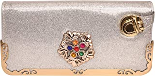 MARIGOLD FLOWER DESIGN CLUTCH/PURSE/WALLET FOR GIRLS/WOMEN/LADIES CASUAL OR DAILY WEAR PARTY OUTINGS