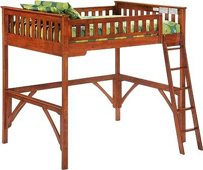 Night & Day Furniture Ginger Loft, cherry finish, Full