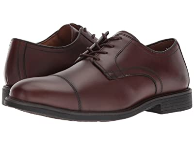 Johnston & Murphy Waterproof XC4(r) Hollis Cap Toe Dress Casual Oxford (Oak Waterproof Full Grain) Men