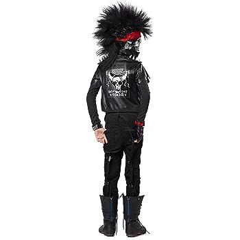 Disfraz esqueleto rockero niño: Amazon.es: Juguetes y juegos