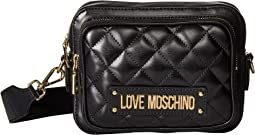 Shiny Quilted Crossbody