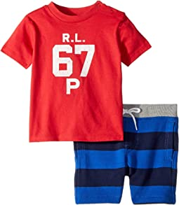 Cotton T-Shirt & Shorts Set (Infant)