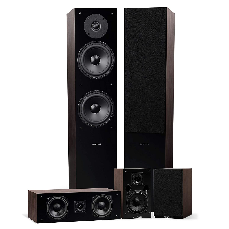 Fluance Elite High Definition Surround Sound Home Theater 5.0 Channel
