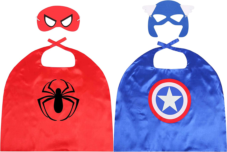 Ideed Kids Cape Sale special price Boys 5 ☆ very popular Superhero Costumes 2T-8