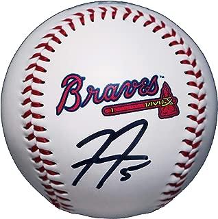 Freddie Freeman Atlanta Braves Signed Autographed Rawlings Official Major League Logo Baseball COA