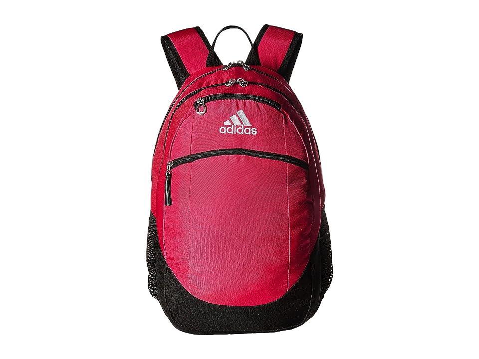 adidas Striker II Team Backpack (Shock Pink/Black/White) Backpack Bags