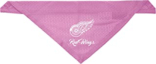 Littlearth Detroit Red Wings Dog Cat Mesh Jersey Bandana Pink S/M
