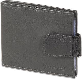 Rimbaldi Bolso de la llave doble gran bolsillo extra para las llaves del coche de piel de becerro natural es naturales