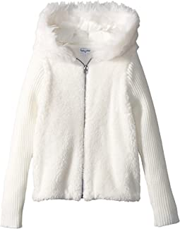 Splendid Littles - Faux Fur Sherpa Hoodie Jacket (Little Kids)