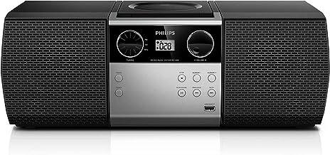 Philips Portable Micro Hi-Fi Music Sound System, CD Player, MP3-CD, CD and CD-R/RW,..