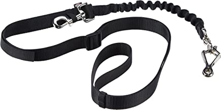 Friends On Tour Trixie Bicycle and Jogging Lead, 25 mm, Black