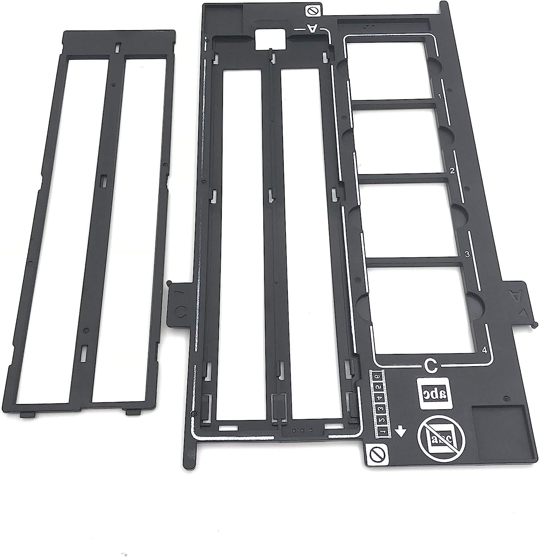 OKLILI 1423040 1403903 Photo Holder Assy Film Slide 35mm Negative Holder & Cover Halter Film Guide Compatible with Epson Perfection V500 V550 V600 4490 4990 2450 3170 3200 4180 X750 X770 X820
