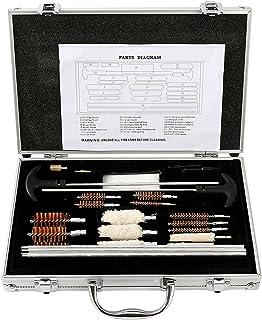 YaeTek Universal Aluminum Gun Cleaning Kit Rifle Pistol Handgun Shotgun Firearm Cleaner Maintenance
