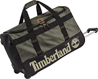 Timberland Wheeled Duffle 26 Inch Lightweight Rolling Luggage Travel Bag Suitcase Duffel