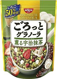 日清シスコ ごろっとグラノーラ 薫る宇治抹茶 360g ×6袋