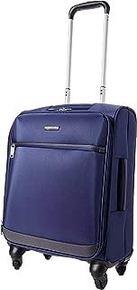 AmazonBasics 53 cm Navy Blue Softsided Cabin Trolley