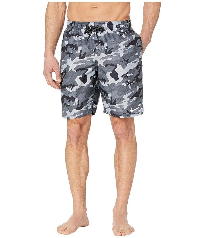 Nike  9 Camo Vital Volley Shorts (Black) Mens Swimwear